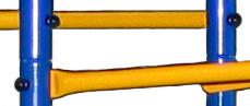 В новых моделях KAMPFER Горка Порошковое покрытие краской: Beckers и  высокопрочный пластик  выдерживают перепады температур от + 60 до -60 гадусов. А также современные материалы надолго сохраняют цвета от выцветания.